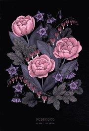 Blomstermandala – Skissblock