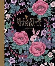 Blomstermandala – målarbok