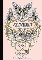 Sommarnatt : tavelbok 20 ark att färglägga riva ut och rama in