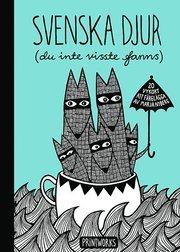 Svenska djur (du inte visste fanns) : 20 vykort att färglägga