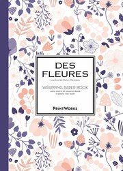 Des Fleures. Wrapping paper book