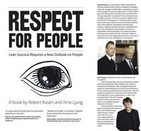 Respect for people : Lean success requires a new outlook on people (h�ftad)