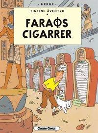 Tintin 4: Faraos cigarrer (h�ftad)