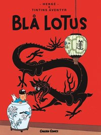 Tintin 5: Bl� lotus (h�ftad)