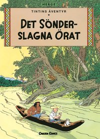 Tintin 6: Det s�nderslagna �rat (h�ftad)