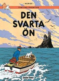 Tintin 7: Den svarta �n (h�ftad)