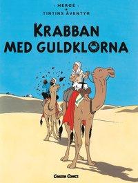 Tintin 9: Krabban med guldklorna (h�ftad)