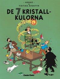 Tintin 13: De sju kristallkulorna (h�ftad)