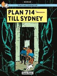 Tintin 22: Plan 714 Till Sidney (h�ftad)