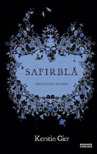 Safirblå (inbunden)