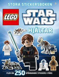 Lego star wars stora stickersboken : hj�ltar