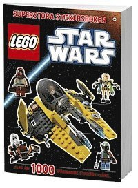 LEGO Star Wars superstora stickersboken (h�ftad)