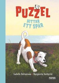 Puzzel hittar ett sp�r (kartonnage)