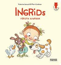 Ingrids f�rsta djurbok (kartonnage)