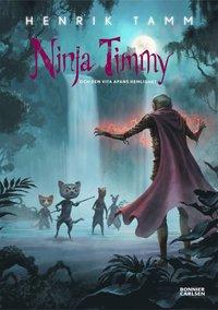 Ninja Timmy och den vita apans hemlighet (inbunden)