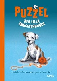Puzzel : den lilla smuggelhunden (kartonnage)