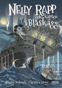 Nelly Rapp och kapten Bl�sk�gg (kartonnage)