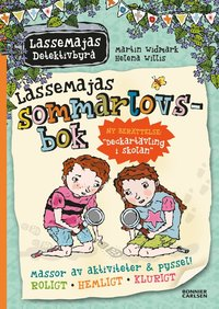 LasseMajas sommarlovsbok (inbunden)