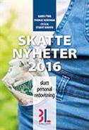 Skattenyheter 2016