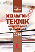 Deklarationsteknik 2016