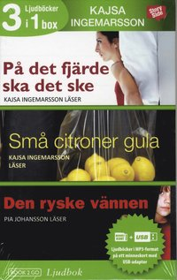 Kajsa Ingemarsson 3 i 1 box (pocket)