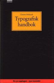 Typografisk handbok (inbunden)