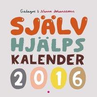 Sj�lvhj�lpskalender 2016,Galagos & Nanna Johanssons (h�ftad)