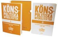 K�nspolitiska nyckeltexter I-II. 1839-2002 (2 volymer i kassett) (h�ftad)