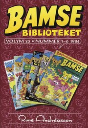 Bamsebiblioteket. Vol. 23 Nummer 1-6 1984