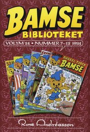 Bamsebiblioteket. Vol. 24 Nummer 7-12 1984