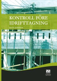 Kontroll f�re idrifttagning (pocket)