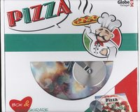 Pizza - box (bok & pizzask�rare) (kartonnage)