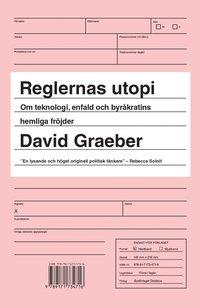 Reglernas utopi : om teknologi, enfald och byr�kratins hemliga fr�jder (h�ftad)