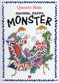 Mamma, pappa, monster (kartonnage)