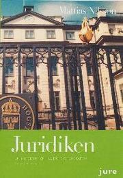 Juridiken : en introduktion till rättsvetenskapen