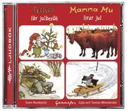 Pettson får julbesök / Mamma Mu firar jul (ljudbok)