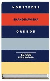 Norstedts Skandinaviska Ordbok : 12.000 Uppslagsord (kartonnage)