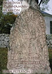 Nordiskt runnamnslexikon (5 rev. utgåva)
