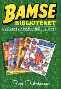 Bamsebiblioteket. Vol. 03, Nummer 1-6 1974 (inbunden)