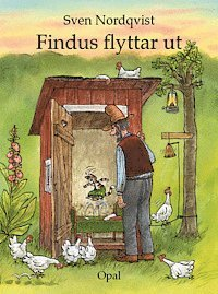 Findus flyttar ut (kartonnage)