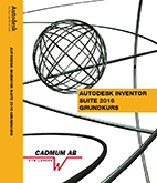 Autodesk Inventor 2016 Grundkurs
