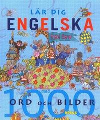 30101: L�r dig engelska med 1000 ord och bilder (kartonnage)