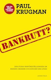 Bankrutt? : den stora vanf�rest�llningen om krisens orsaker och hur den ska l�sas (inbunden)
