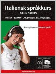 Italiensk språkkurs Grundkurs MP3CD
