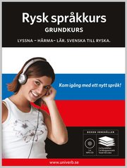 Rysk språkkurs Grundkurs MP3CD