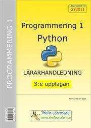 Programmering 1 med Python – Lärarhandledning inkl CD