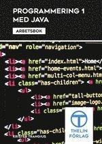 Programmering 1 med Java – Arbetsbok