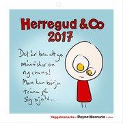 Väggalmanacka Herregud & Co 2017