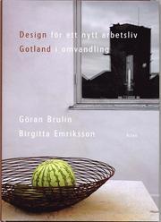 Design för ett nytt arbetsliv : Gotland i omvandling