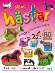 Stickers aktivitetsbok mina hästar